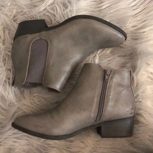 Grey MIA ankle booties
